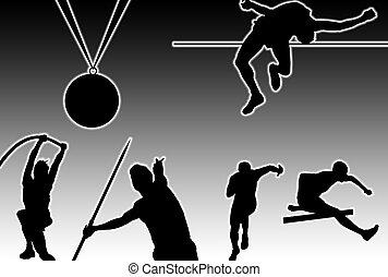 incandescent, athlétisme