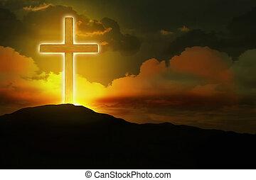 incandescent, croix