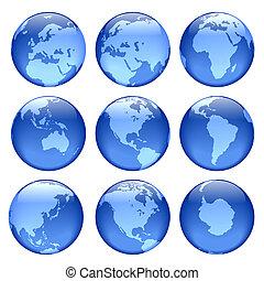 incandescent, globe, vues
