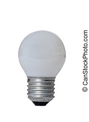 Incandescent lamp with glass bulb. - Incandescent lamp with...
