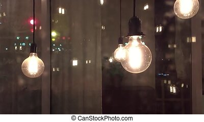 incandescent night idea science thought filament lamps....