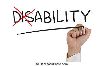 incapacité, à, capacité