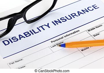incapacité, assurance