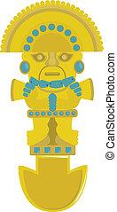 Incas decoration. For you design
