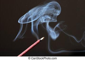 incense の 棒, 燃焼