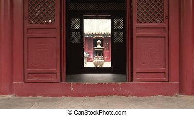 Incense Burner through Doorway