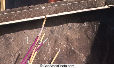 Incense Burning at Lama Temple