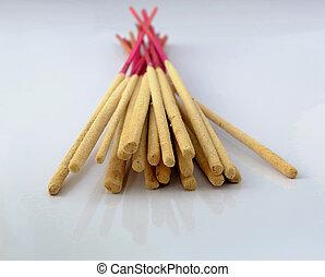 incense sticks - bundle of incense sticks use for pray the...
