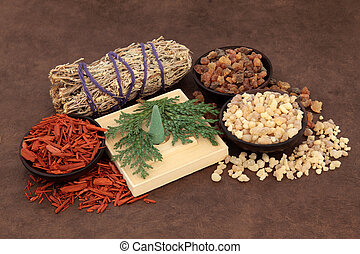 Incense Types - Frankincense, myrrh, sandalwood, incense...