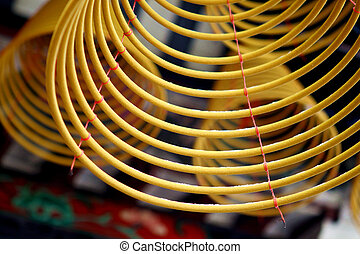 incenses, tempel, chinees