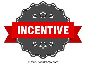 incentive label. incentive isolated seal. sticker. sign - ...