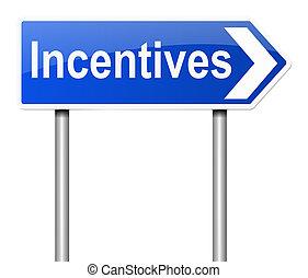 Incentives concept.