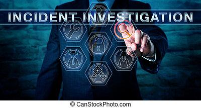 incident, pousser, cyber, spécialiste, investigation