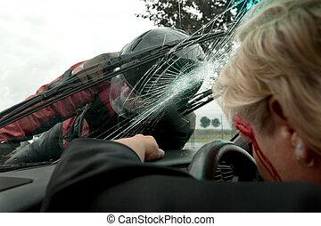 incidente automobile