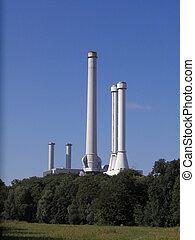 incinerator in the South of Munich