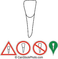 incisor  teeth sign