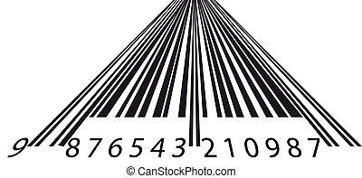 inclinación, barcode