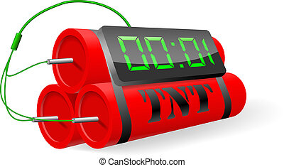 Included electronic thermometer. - Vector illustration,...
