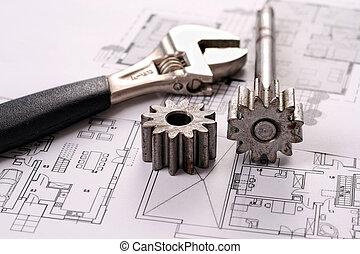 incluso, planos, herramientas, sproc