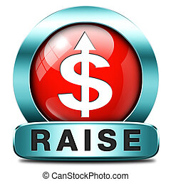 income raise a rise in higher salary pay increase ...