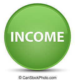 Income special soft green round button