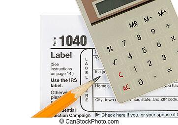 Income Tax Items
