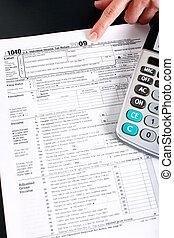 Income Tax Return and calculator