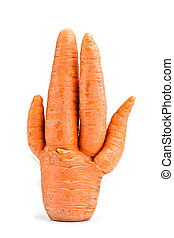 incomum, cenouras
