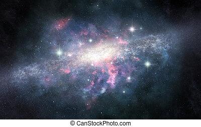 inconnu, galaxie