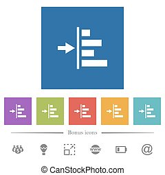 Increase left indentation of content flat white icons in ...