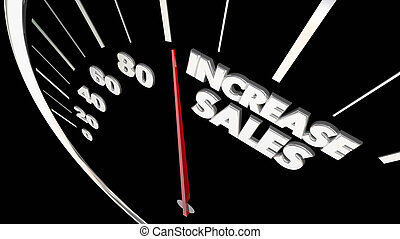 Increase Sales Measure Results Selling More Products...