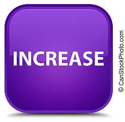 Increase special purple square button