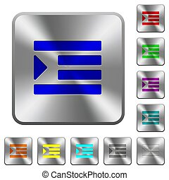 Increase text indentation rounded square steel buttons - ...