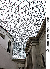 British Museum - Incredible interior of Great Hall in...