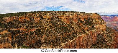 Incredible view of Grand Canyon, South Rim, Arizona, United States