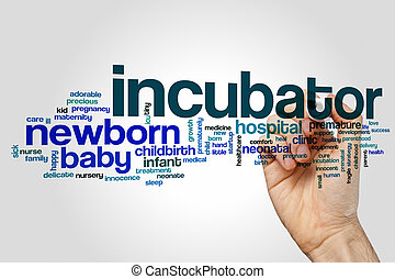 Incubator word cloud