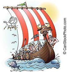 incursione, vikings