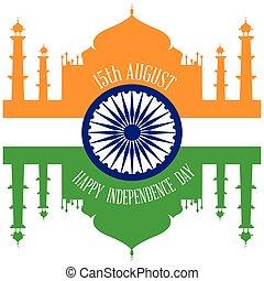 indépendance, inde, jour