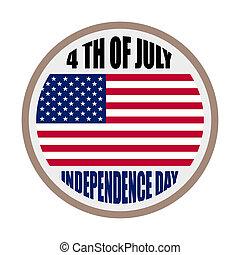 indépendance, usa, jour