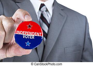 indépendant, électeur