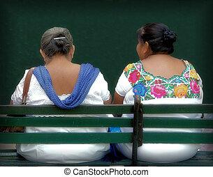 indígena,  Yucatán, gente