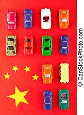 indústria carro, (2), chinês