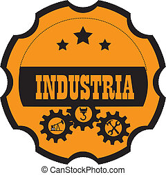 indústria, desenho