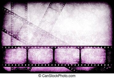 indústria filme, carretéis, destaque