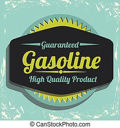 indústria, gasolina