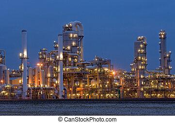 indústria, petrochemical