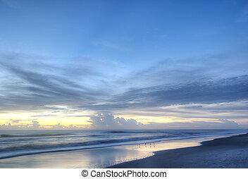 Indalantic Beach in Florida