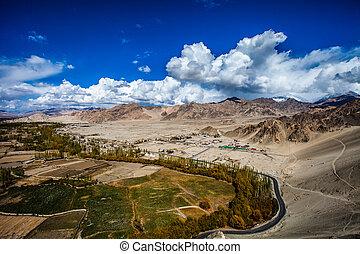 inde, ladakh, indien, himachal, himalaya, pradesh