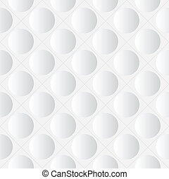 Indentation - Abstract seamless white background with...