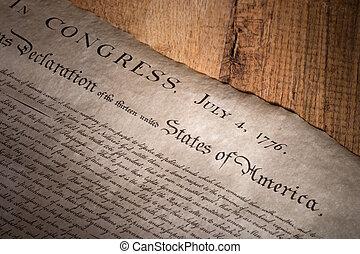 independência, declaração